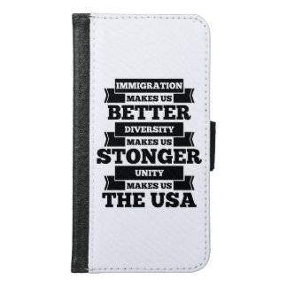 Pro immigration samsung galaxy s6 wallet case