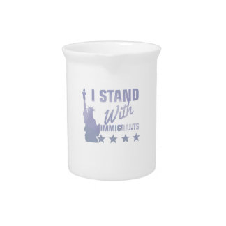 Pro immigration statue of liberty shirt pitcher