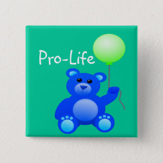 Pro-Life 15 Cm Square Badge