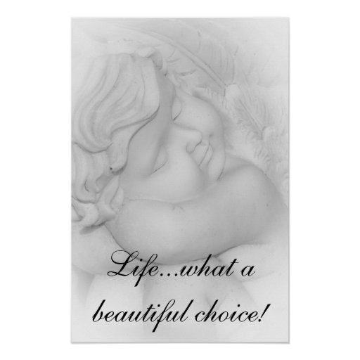 Pro-Life Angel Poster