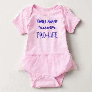 Pro-life Baby Bodysuit