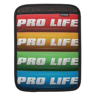 Pro Life Collage Sleeves For iPads