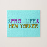 Pro-Life New Yorker Jigsaw Puzzles