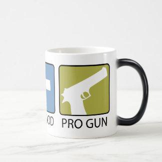 Pro Life, Pro God, Pro Gun Magic Mug