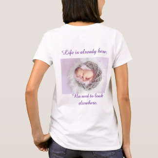 Pro-Life Woman T-shirt