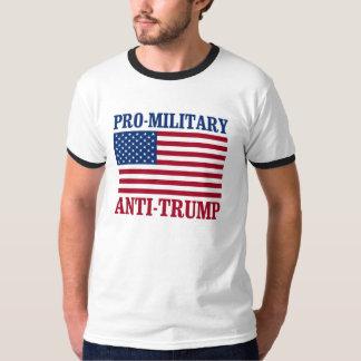 Pro-Military Anti-Trump - Anti-Trump - T-Shirt