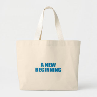 Pro-Obama - A NEW BEGINNING Tote Bags
