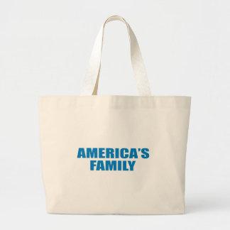 Pro-Obama - AMERICA'S FAMILY Bags