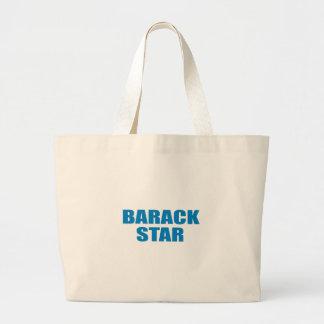 Pro-Obama - BARACK STAR Tote Bags
