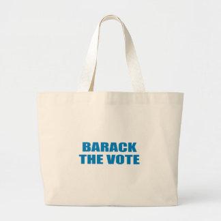 Pro-Obama - BARACK THE VOTE Canvas Bags