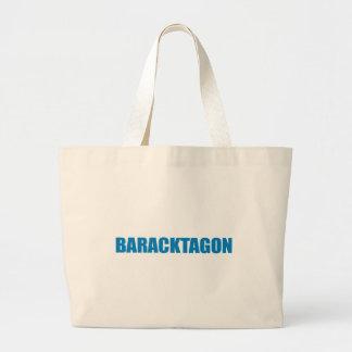 Pro-Obama - BARACKTAGON Tote Bag