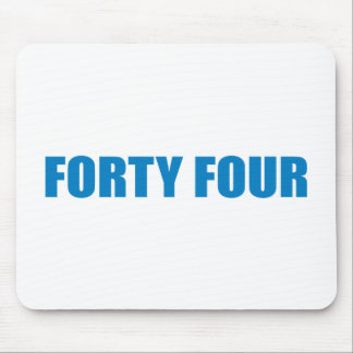 Pro-Obama - FORTY FOUR Mouse Pads