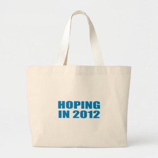 Pro-Obama - HOPING IN 2012 Canvas Bag