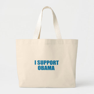 Pro-Obama - I SUPPORT OBAMA Tote Bag