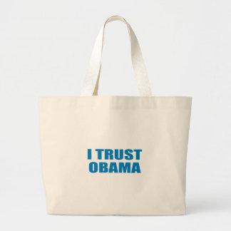 Pro-Obama - I TRUST OBAMA Bags