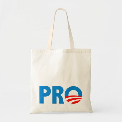 Pro Obama in 2012 Tote Bags