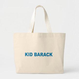 Pro-Obama - KID BARACK Jumbo Tote Bag