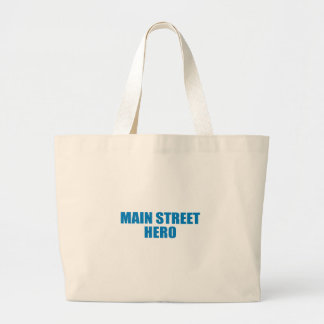Pro-Obama - MAIN STREET HERO Tote Bags