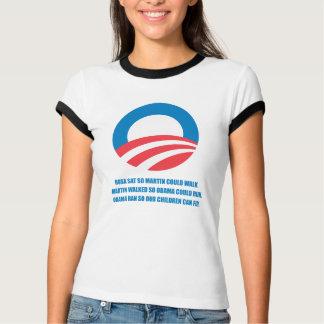 Pro-Obama - MARTIN WALKED SO OBAMA COULD RUN T-Shirt
