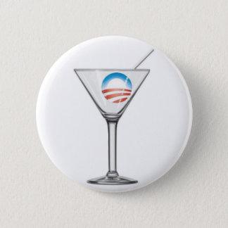 Pro-Obama Martini 6 Cm Round Badge