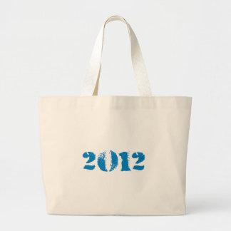 Pro-Obama - OBAMA 2012 DISTRESSED Tote Bag