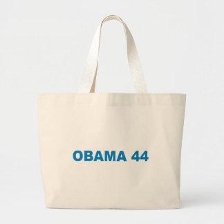 Pro-Obama - OBAMA 44 Canvas Bag