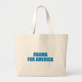 Pro-Obama - OBAMA FOR AMERICA Canvas Bag