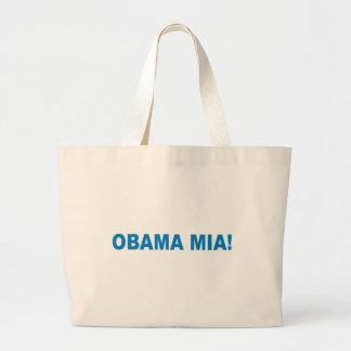 Pro-Obama - OBAMA MIA Canvas Bag