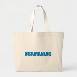 Pro-Obama - OBAMANIAC Canvas Bags