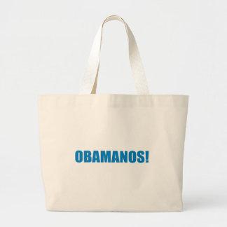 Pro-Obama - OBAMANOS (2) Tote Bags