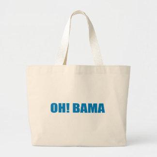 Pro-Obama - OHBAMA Canvas Bags