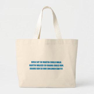 Pro-Obama - ROSA SAT SO MARTIN COULD WALK.png Canvas Bag