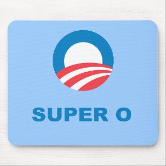 Pro-Obama - SUPER O Mouse Pad