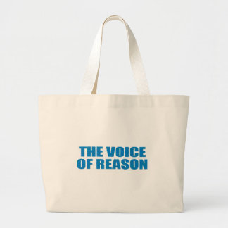 Pro-Obama - THE VOICE OF REASON Tote Bag