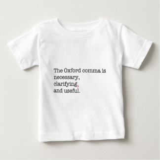 Pro-Oxford Comma Baby T-Shirt