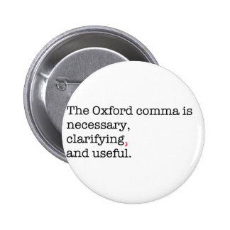 Pro-Oxford Comma Buttons