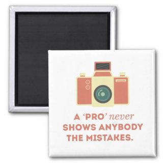 'Pro' Photographs Magnet