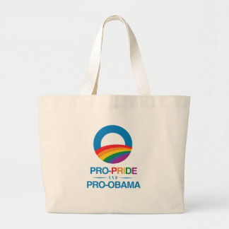 PRO-PRIDE AND PRO-OBAMA -.png Tote Bag