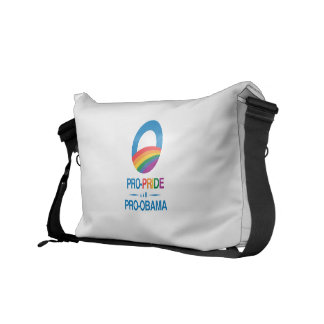 PRO-PRIDE AND PRO-OBAMA -.png Commuter Bags