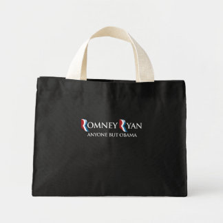PRO-ROMNEY - ANYONE BUT OBAMA -- .png Tote Bags