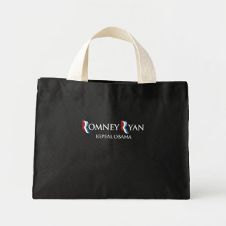 PRO-ROMNEY - REPEAL OBAMA -- .png Canvas Bag