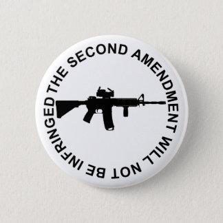 Pro Second Amendment Freedom Merchandise 6 Cm Round Badge