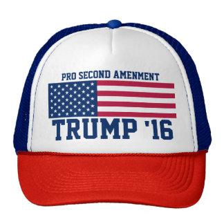 Pro Second Amendment Trump 2016 Cap
