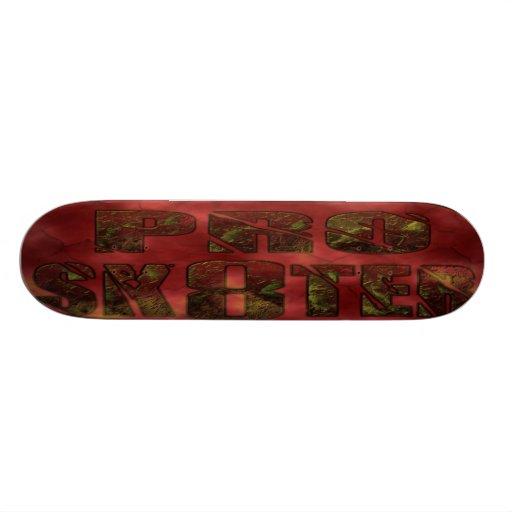 pro sk8ter fire stone skateboard