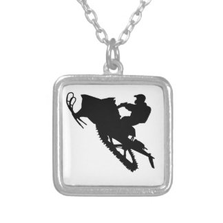 PRO Sled Silver Plated Necklace