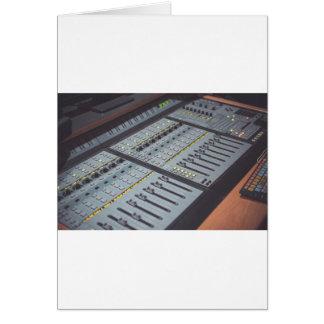 Pro Studio Music Studio Console Music Audio Studio Card