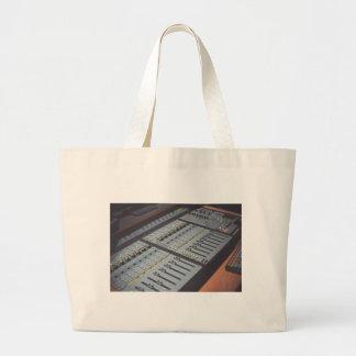 Pro Studio Music Studio Console Music Audio Studio Large Tote Bag