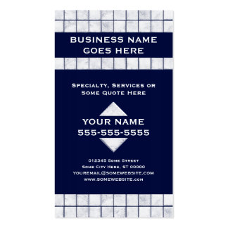 pro tile Double-Sided standard business cards (Pack of 100)