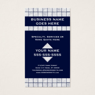 pro tile business card