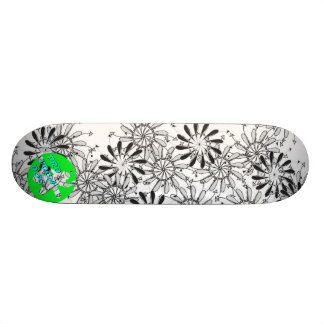 Pro Voca Design Pinflower Dos Skateboard Decks